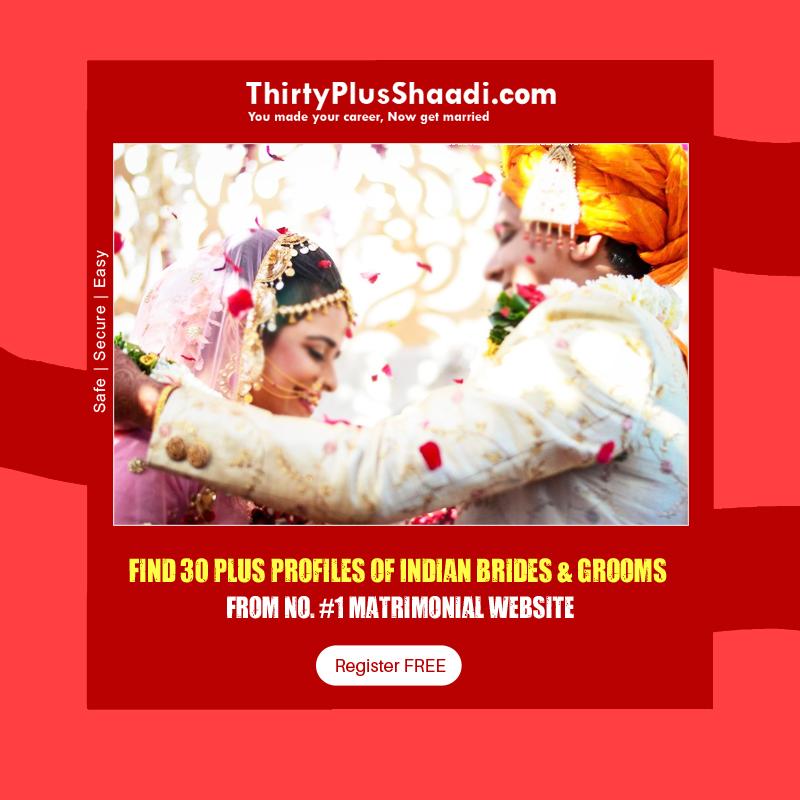 Thirtyplus, Shaadi, Matrimonial, Marriage, Online Matrimonials