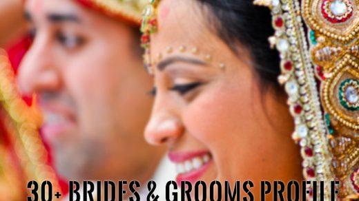 30+ Brides & Grooms Profile